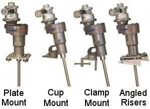 Pneumatic Gear Drive Mixers
